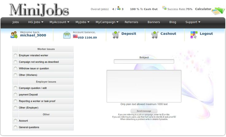http://minijobs4you.com - that is the window where you can report to the admin.