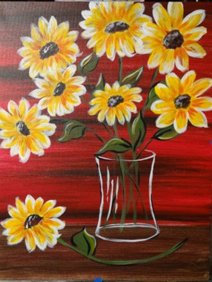I am going to paint Fresh Cut Sunshine at Pinot's Palette - Elk Grove to discover my inner artist!