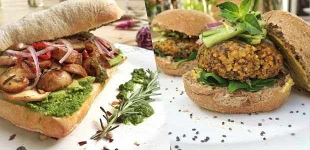 Duas receitas infalíveis de sanduíche vegetariano
