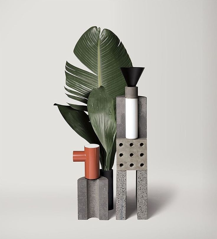 \/\ Concret and Plants