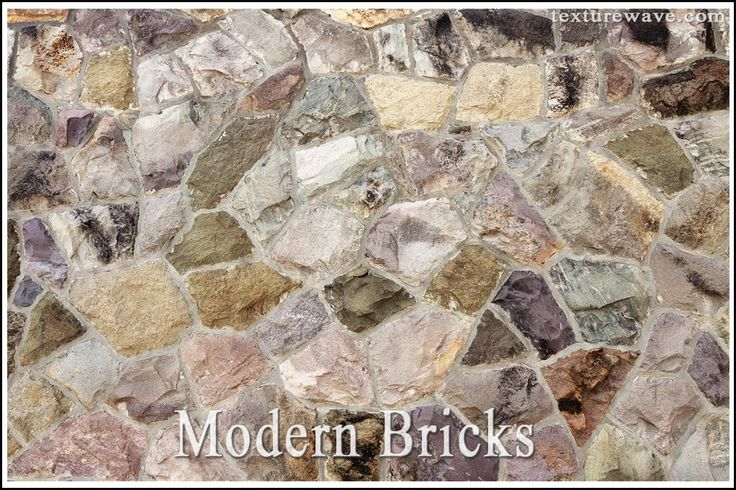 15 new various brick textures - modern and stone facade available on texturewave.com