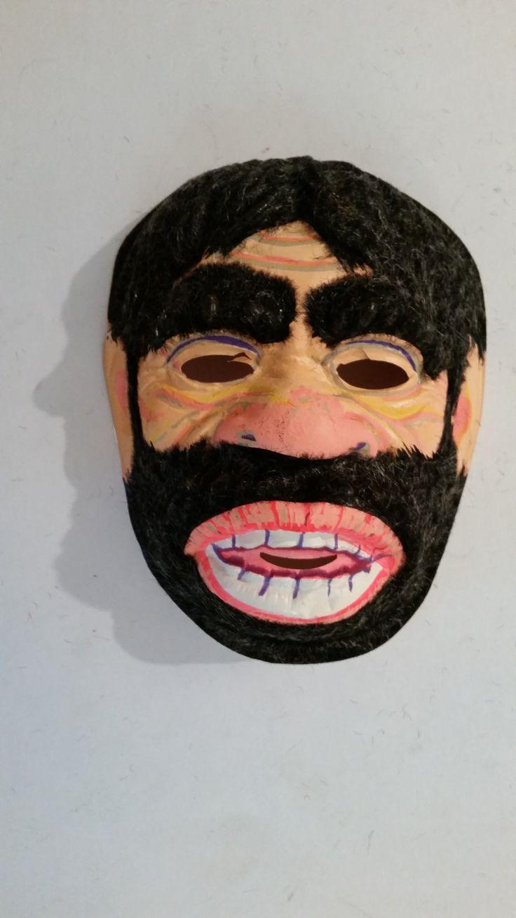 8 best Vintage Halloween Masks images on Pinterest