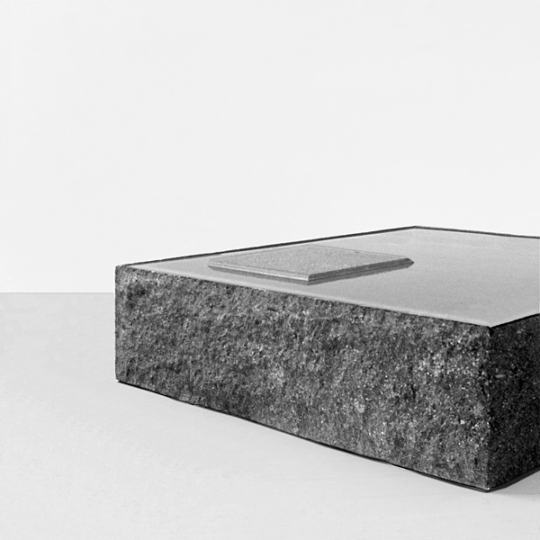 Claudio Silvestrin + Giuliana Salmaso for HenryTimi | CSGS401 coffee table, 2010