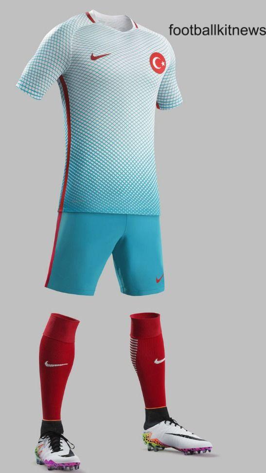 Turkey Away Kit Euro 2016