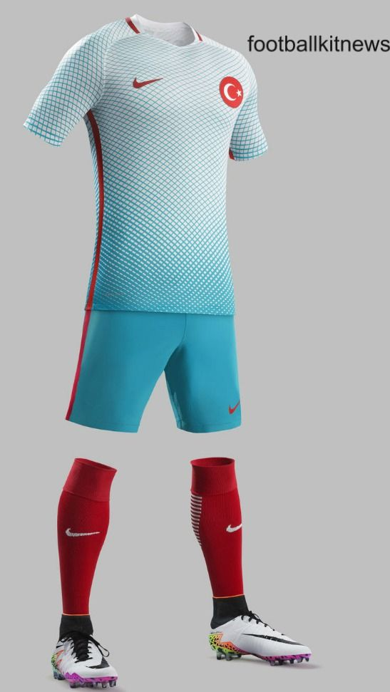 Turkey Away Kit Euro 2016