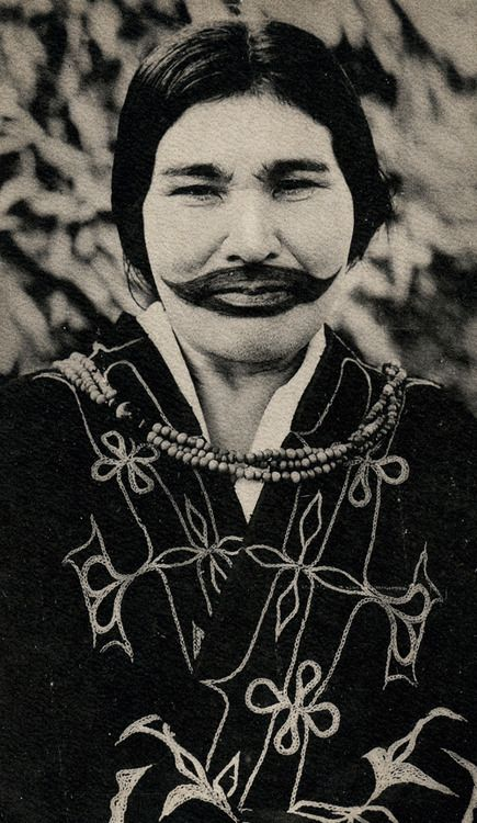 Ainu, probably early 20th century, Hokkaido, Japan