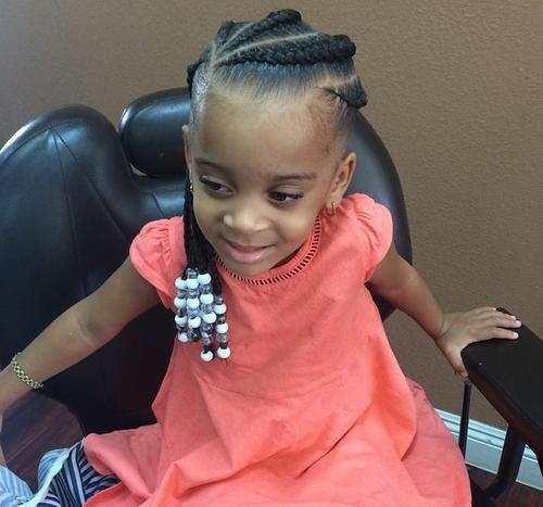 Enjoyable 1000 Ideas About Kids Braided Hairstyles On Pinterest Kid Short Hairstyles For Black Women Fulllsitofus