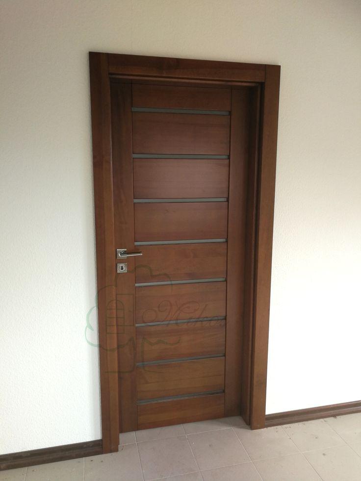 Drewniane drzwi wewnętrzne, nowoczesne drzwi