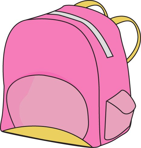 Clip Art Clipart Backpack 1000 images about clip art on pinterest pink backpacks backpack image a free for teachers classroom projects blogs print scrapbooking and more