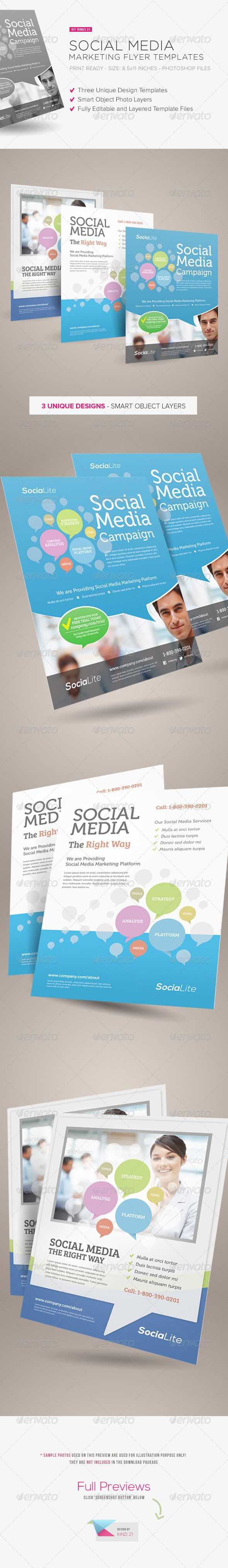 top ideas about slick sheets adobe business social media marketing flyer