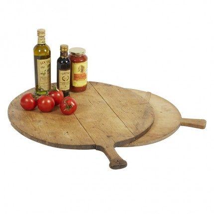 Round Antique Pizza Board