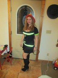 Sexy Firefighter Couples Costume  also link to do it yourself diy couples costumes
