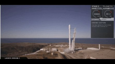 SpaceX Rocket Launch-Vandenberg Air Force Base In California-1/14/17