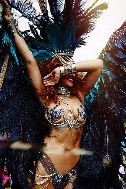 Rihanna's carnival outfit 2015