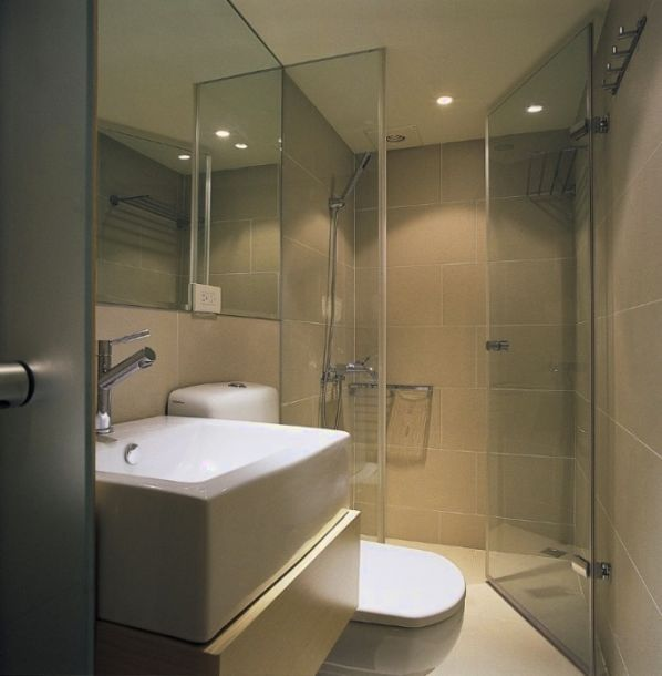Small Shower Rooms Design Ideas Part - 35: Bathroom Types For Tiny Washrooms - Http://houzzbathroom.com/bath- · Designs  For Small BathroomsBathroom DesignsDesign RoomBath ...