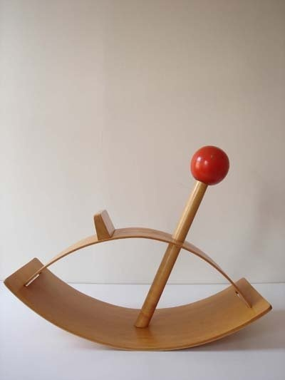 Good CHILDS PLYWOOD ROCKING HORSE By Gloria Caranica, 1950 Home Design Ideas