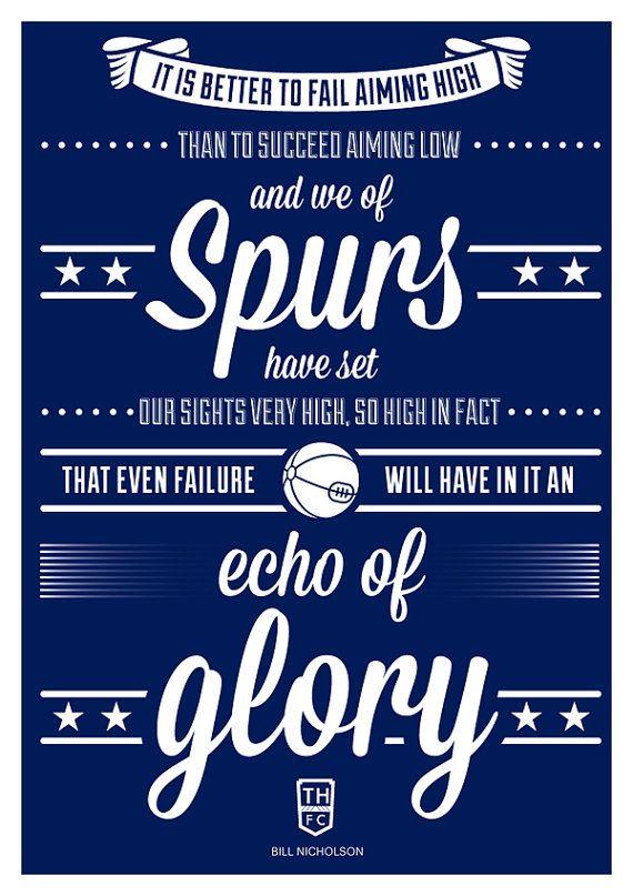 Tottenham Hotspur  Bill Nicholson Quote by headfuzzbygrimboid