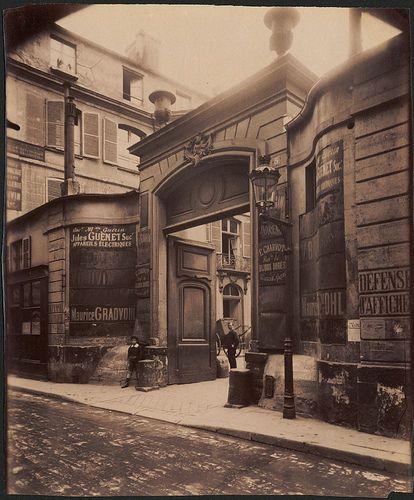 Hotel de Montmorency - 5 rue de Montmorency. (3e arr) - Eugène Atget