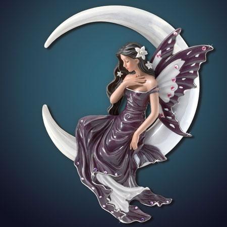 Dream fairy porcelain wall sculpture by nene thomas