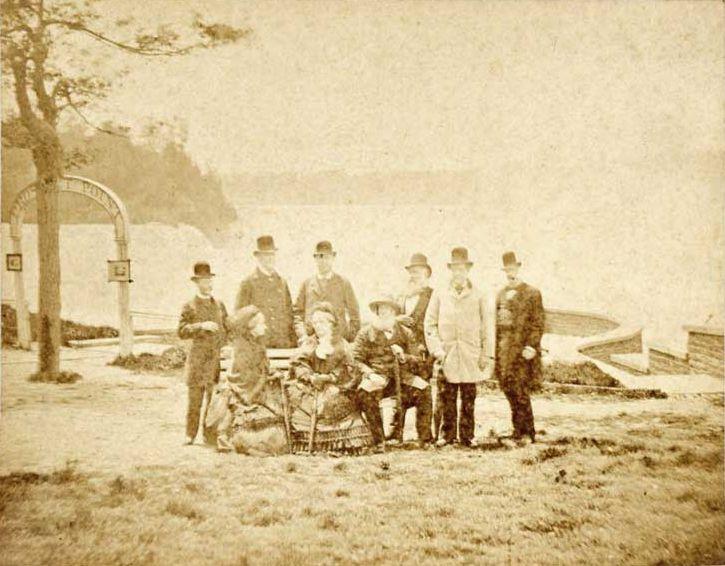 Pedro II of Brazil Niagara Falls 1876 - Pedro II do Brasil – Wikipédia, a enciclopédia livre