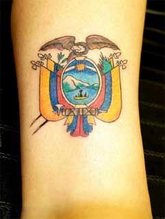ecuadorian flag tattoo tattoo ideas pinterest tattoo tattoo ink and tatting. Black Bedroom Furniture Sets. Home Design Ideas