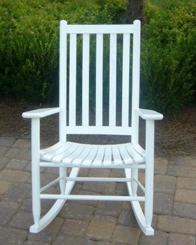 Buy Dixie Seating Slat Seat Adult Rocking Chair At ShopLadder   Great Deals  On Rocking Chairs With A Superb Selection To Choose From!
