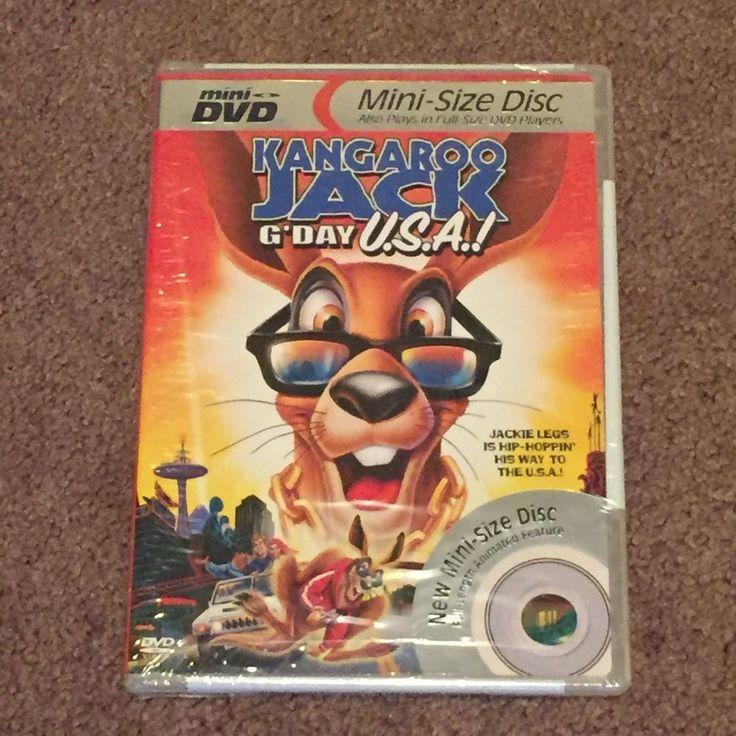 Kangaroo Jack G'Day U.S.A. (DVD, Mini Disc, Movie, Standard, 2004, NR) Brand New