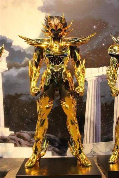 Câncer armaduras de ouro em tamanho real cavaleiros do zodíaco hd