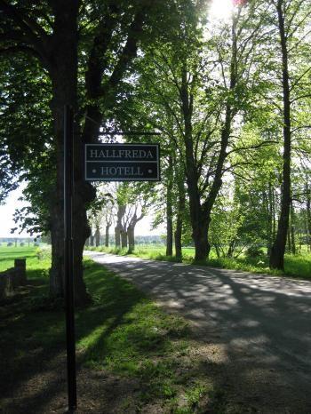 Hallfreda Hotell. Gotland. Sweden.