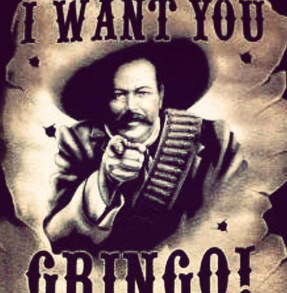 Pancho Villa and Emiliano Zapata | Pancho Villa And Emiliano Zapata In Mexico City Tattoo Picture