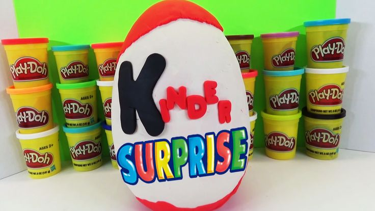 www.youtube.com/user/disneytoybox?sub_confirmation=1 DisneyToyBox presents a GIANT Play Doh Kinder Surprise Egg - Kinder Surprise Toys Inside - Huevos Sorpresa. Today we open a HUGE Playdoh Kinder Surprise Egg filled with lots of Kinder Toys for us to check out!  This is our first video of just the Kinder Surprise Toys. Thanks for watching our video - GIANT Play Doh Kinder Surprise Egg - Kinder Surprise Toys Inside - Huevos Sorpresa #Kinder #Surprise #Egg #Playdoh