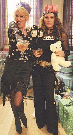 I used to LOVE this UK TV show! Ab Fab - Patsy Stone and Edina