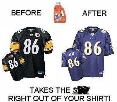 funny steeler diss | RAVENS VS. STEELERS | SUPERXOFFICIAL. Your Destination for Music ...