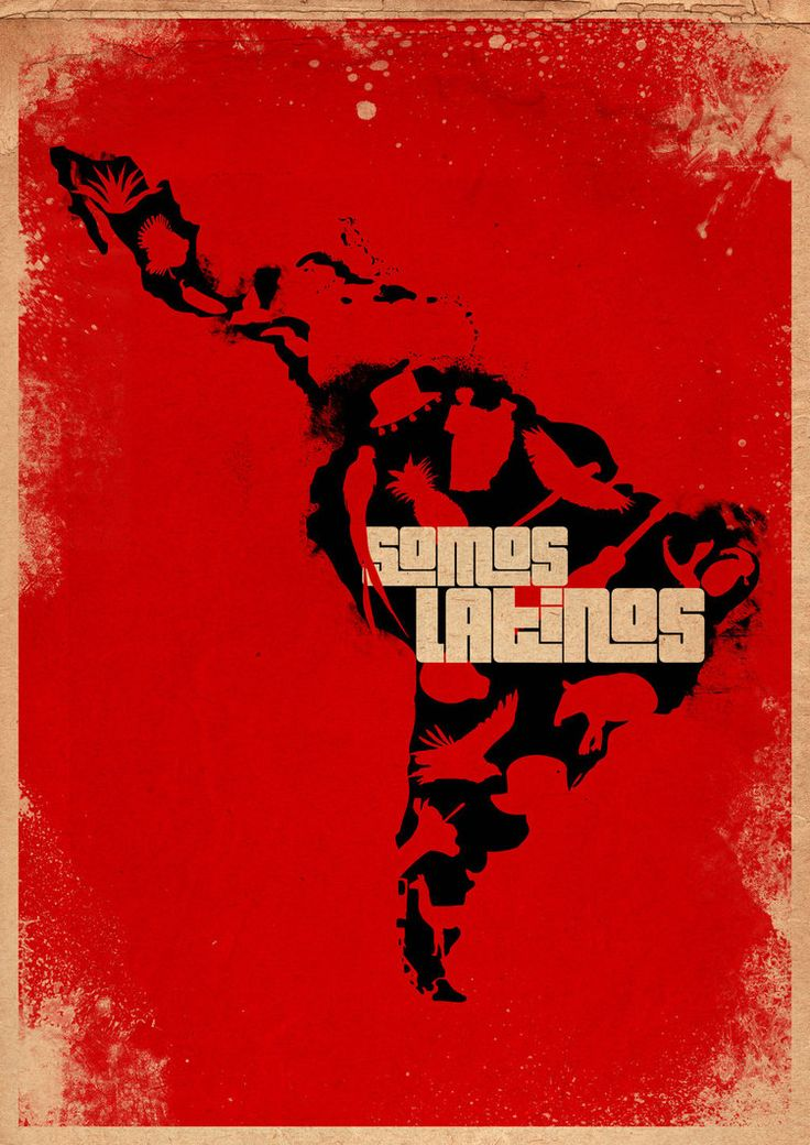Somos Latinos poster