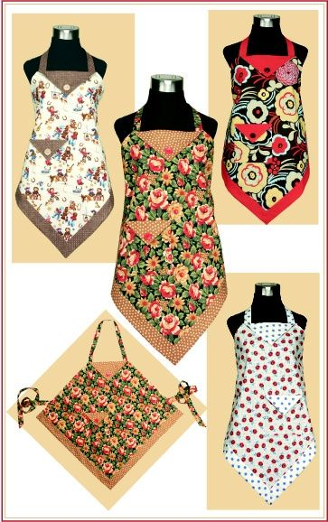 P132 Four Corners Apron! @ DIY Home Crafts