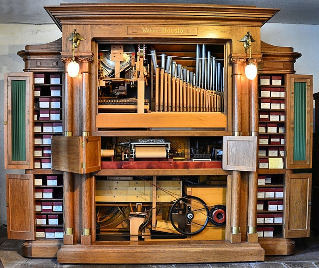 Siegfried's Mechanical Musical Instrument Museum: Weber Maesto | Flickr - Photo Sharing!