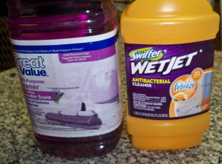 DIY: How to refill your Swiffer WetJet containers!