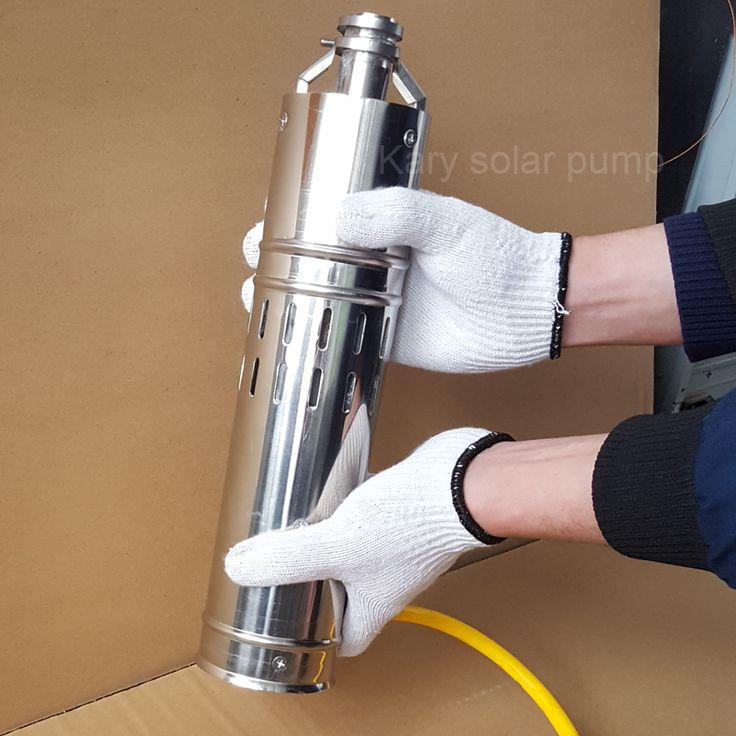 12v dc submersible solar powered water pump, mini electric solar pond pump, 13GPM drip irrigation solar pump