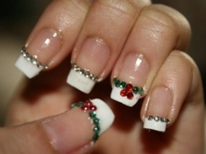 Holiday Nail Design holiday season santa spirit idea nail art manicure nailart