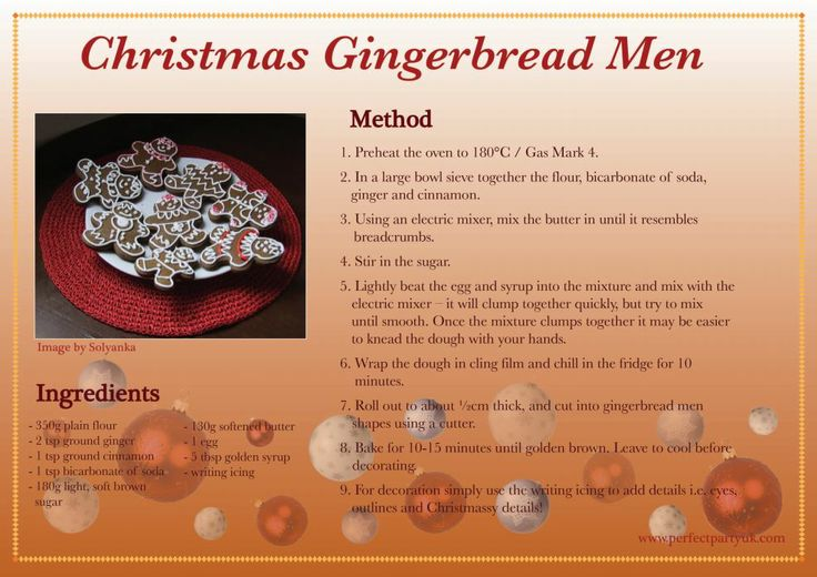 41 best christmas images on pinterest free printable pdf and christmas printables gingerbread men recipe card go to http forumfinder Gallery