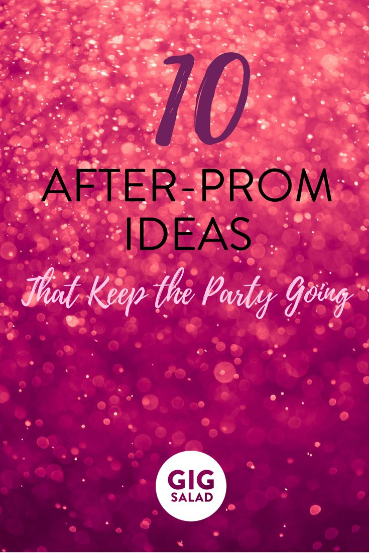 Looking for fun and safe after-prom activities? We have you covered with these 10 creative ideas!