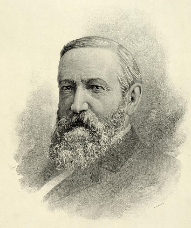 President Benjamin Harrison Photograph by International  Images