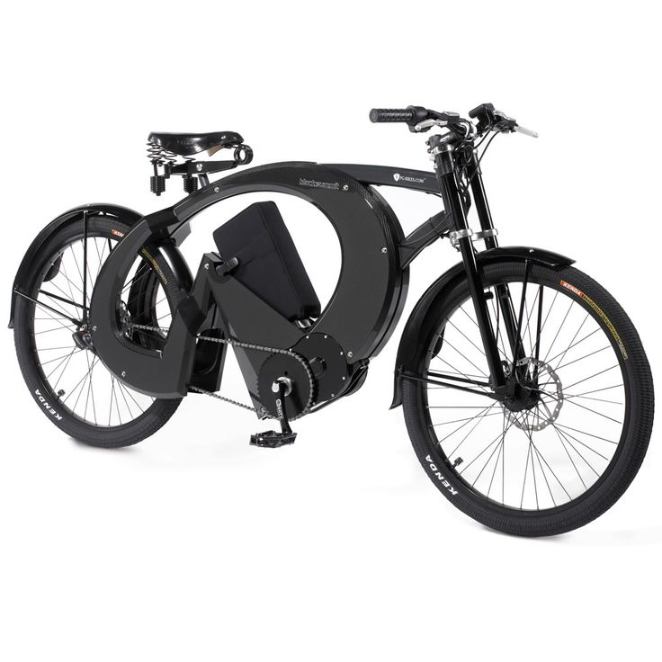 Bavarian Electric Touring Bicycle by Hammacher Schlemmer