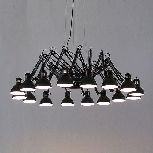 Ron Gilad; Enameled Metal 'Dear Ingo' Ceiling Light for Moooi.