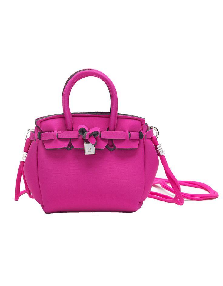Save My Bag Lycra Mini Icon Handbag in Thai