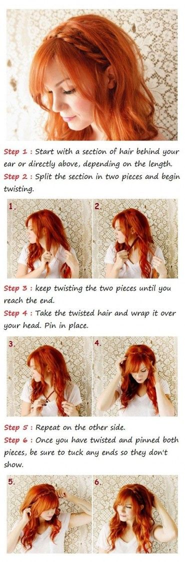 Cute Heidi Braids Tutorial
