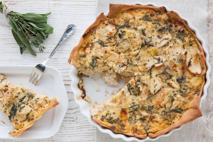 Italiaanse taart met kip (Italian Cake with Chicken)