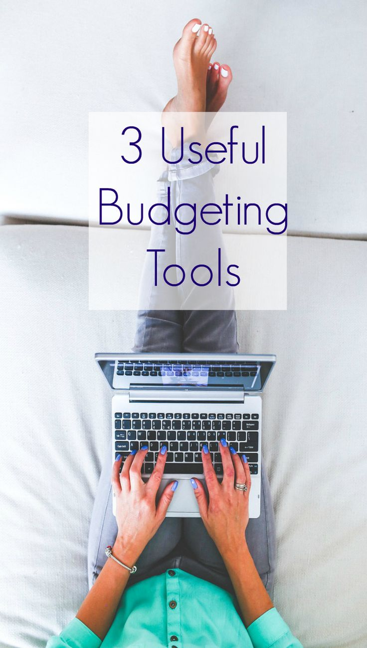 3 Useful Budgeting Tools -  ways to help tyou manage your money and budget effectively. sound money saving advice