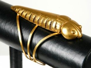 87 Armspange Goldlegierung. L 11,1 cm. Ø 7 cm.
