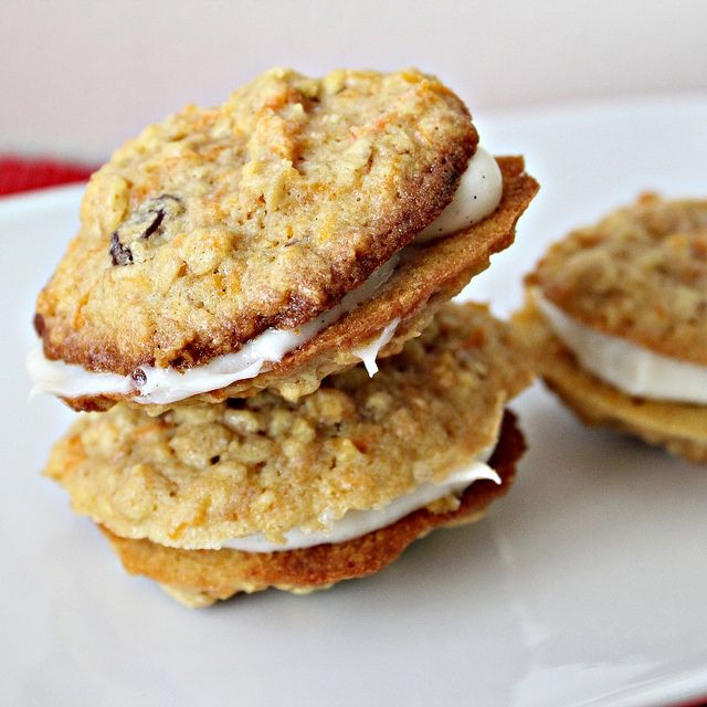 Carrot Cake Cookies - Joanne Eats Well With Others